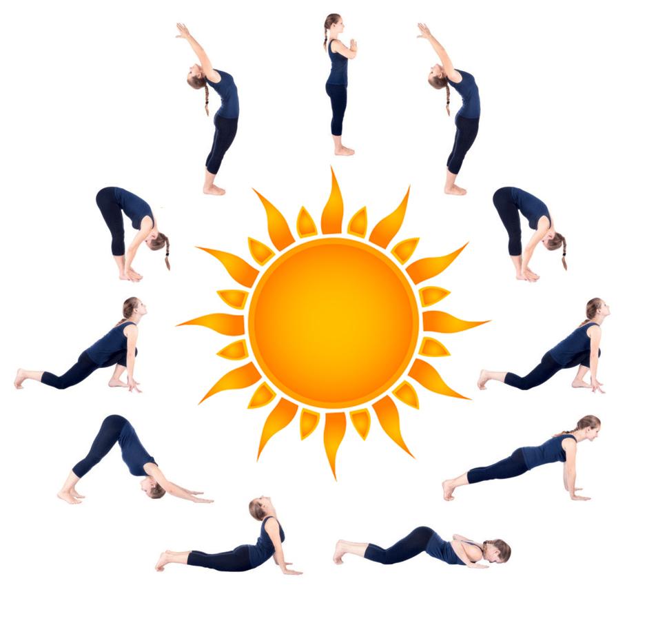 saluto al sole