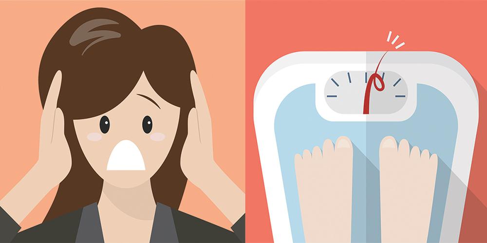 stress ingrassare rimedi alimenti