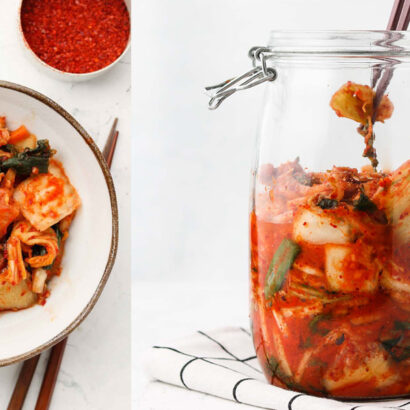 proprietà ricetta kimchi